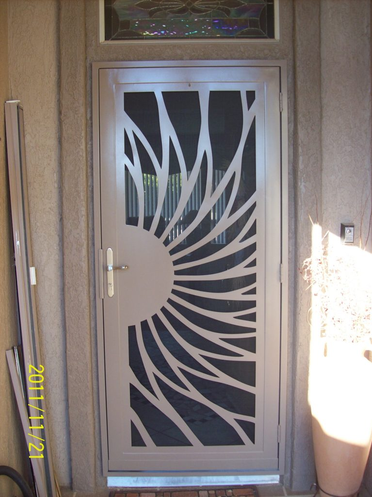 Security screen doors native sun home accents inc - Unique home designs security screen doors ...