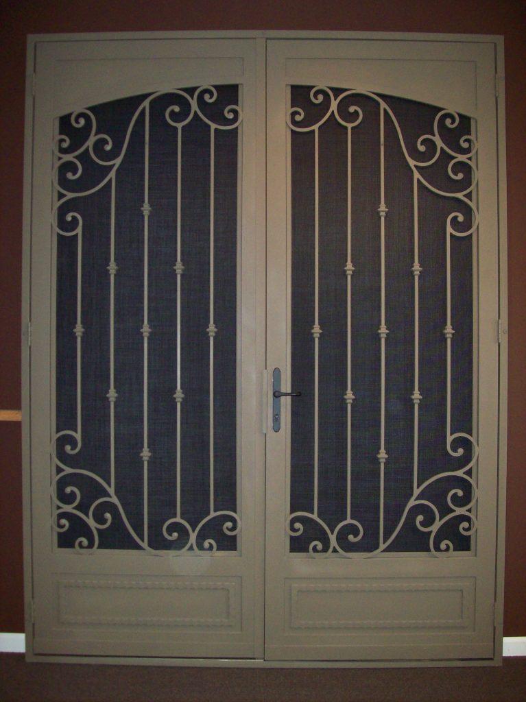 Decorative Security Screen Doors : Security screen doors native sun home accents inc